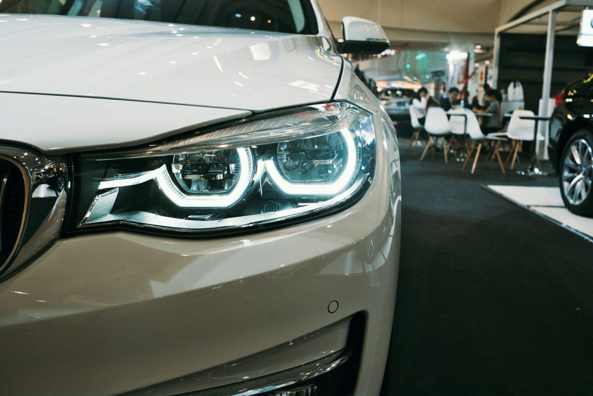 car purchase showroom